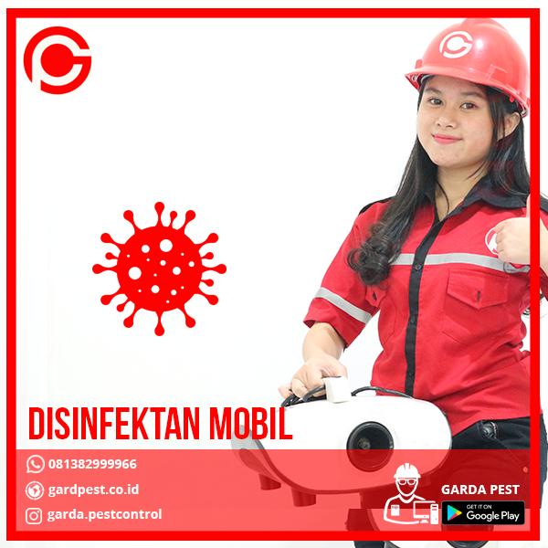 Jasa Disinfektan Mobil Jakarta Barat